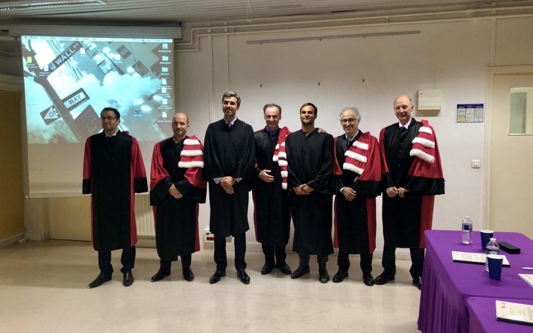 Notre ancien Fellow, Le Dr Julien Serane a soutenu une thèse sur les reconstructions pulpaires par lambeau