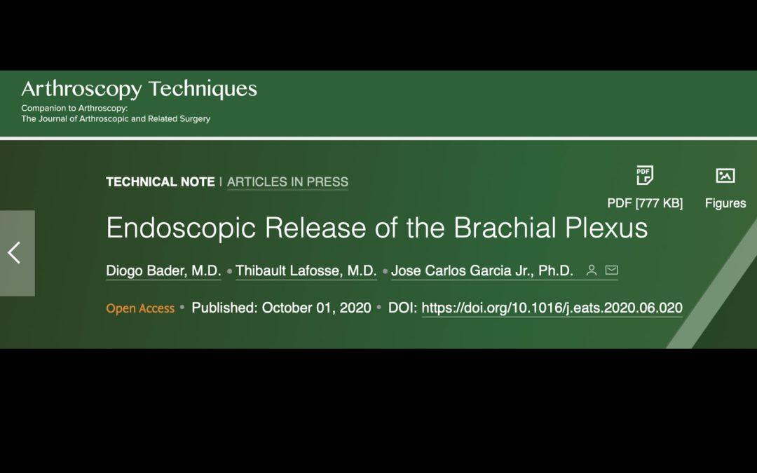 Neurolyse endoscopique du plexus brachial: technical update